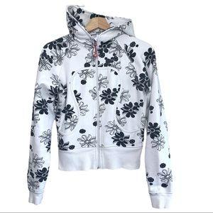 Lululemon Limited Edition Floral  Scuba Hoodie